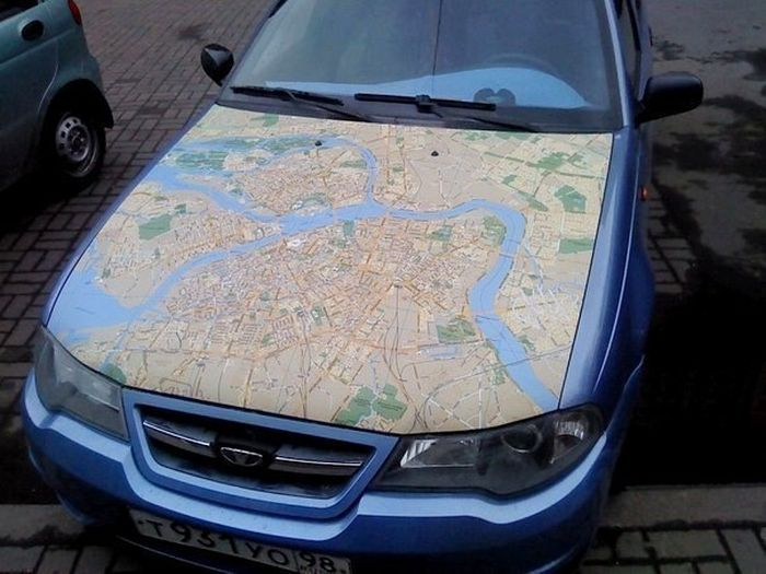 Awesome Car map