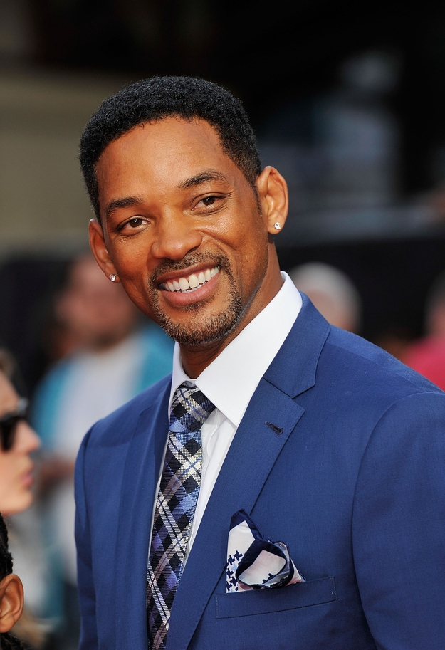 Will Smith in a nice suit