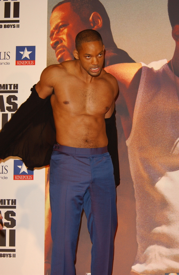 Will Smith looks Ripped