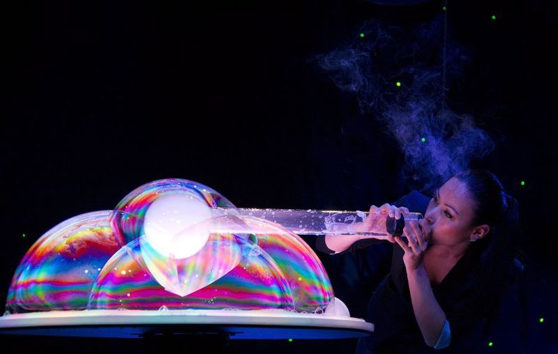 The Art Of Bubble Blowing