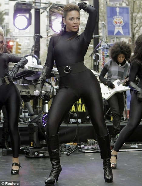 Beyonce (on the Today Show)