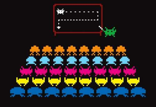 Teaching Space Invaders
