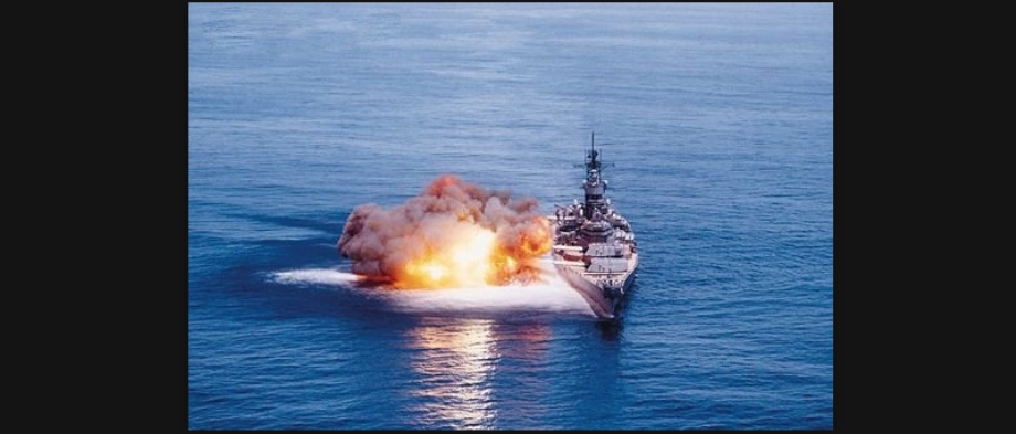 USS Iowa (BB 61) Explosion