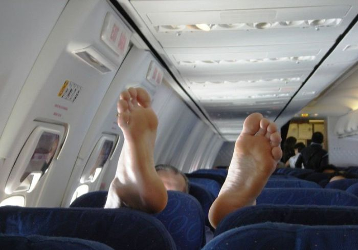 Laid Back On The Plane