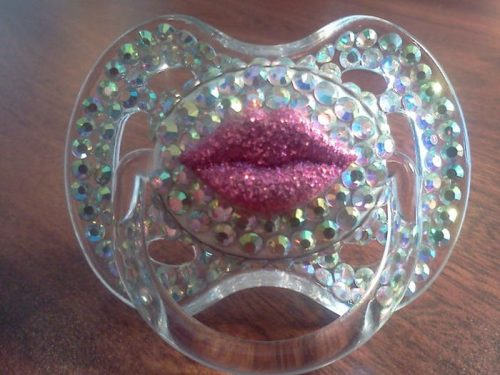 Kiss Lips Pacifier