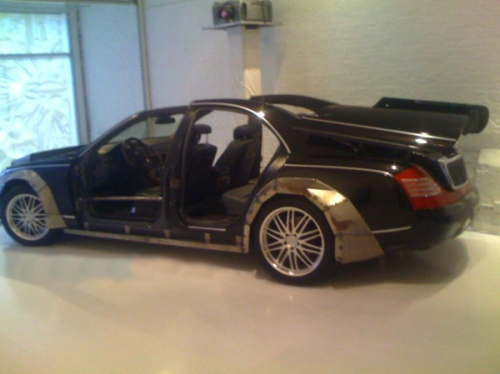 Maybach In The Shop