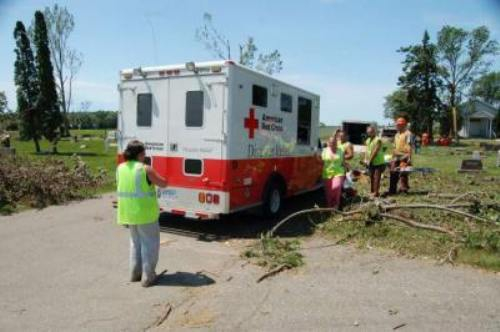 Red Cross Ambulance