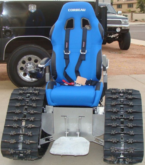 Ultimate Tank Wheelchair