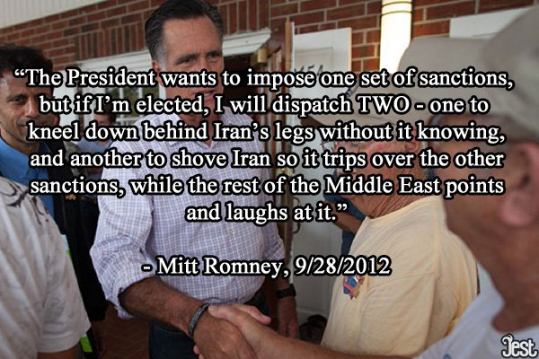Romney Not Backing Down