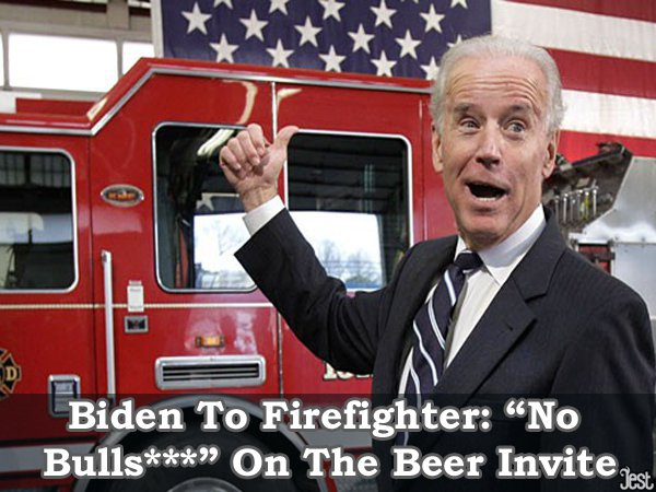 Fire Fighter Biden?