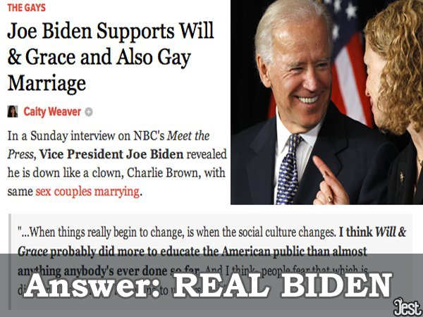 Real Joe Biden