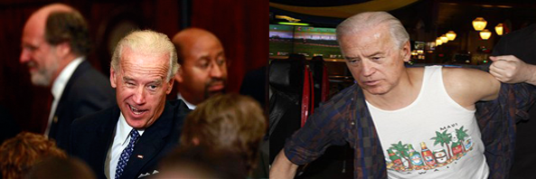 Real vs. Fake Joe Biden