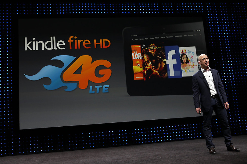 4G LTE Kindle Fire HD