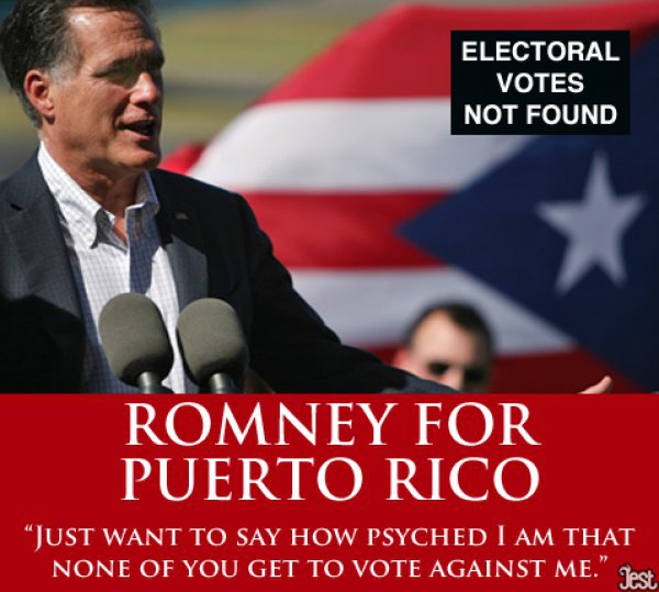 Romney For Puerto Rico