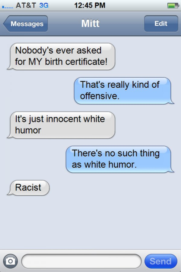 "Best Of ""Texts From Mitt Romney"" 