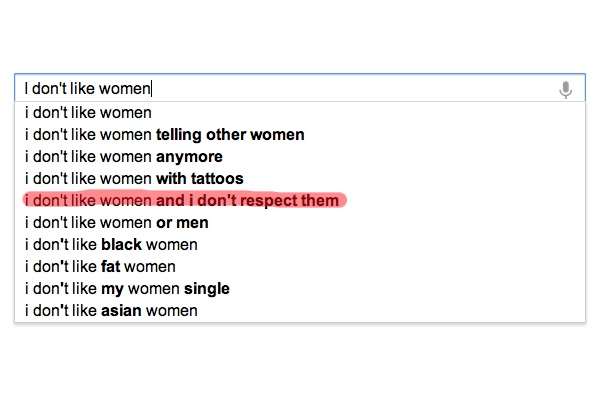 What Google Can Teach Us About Women