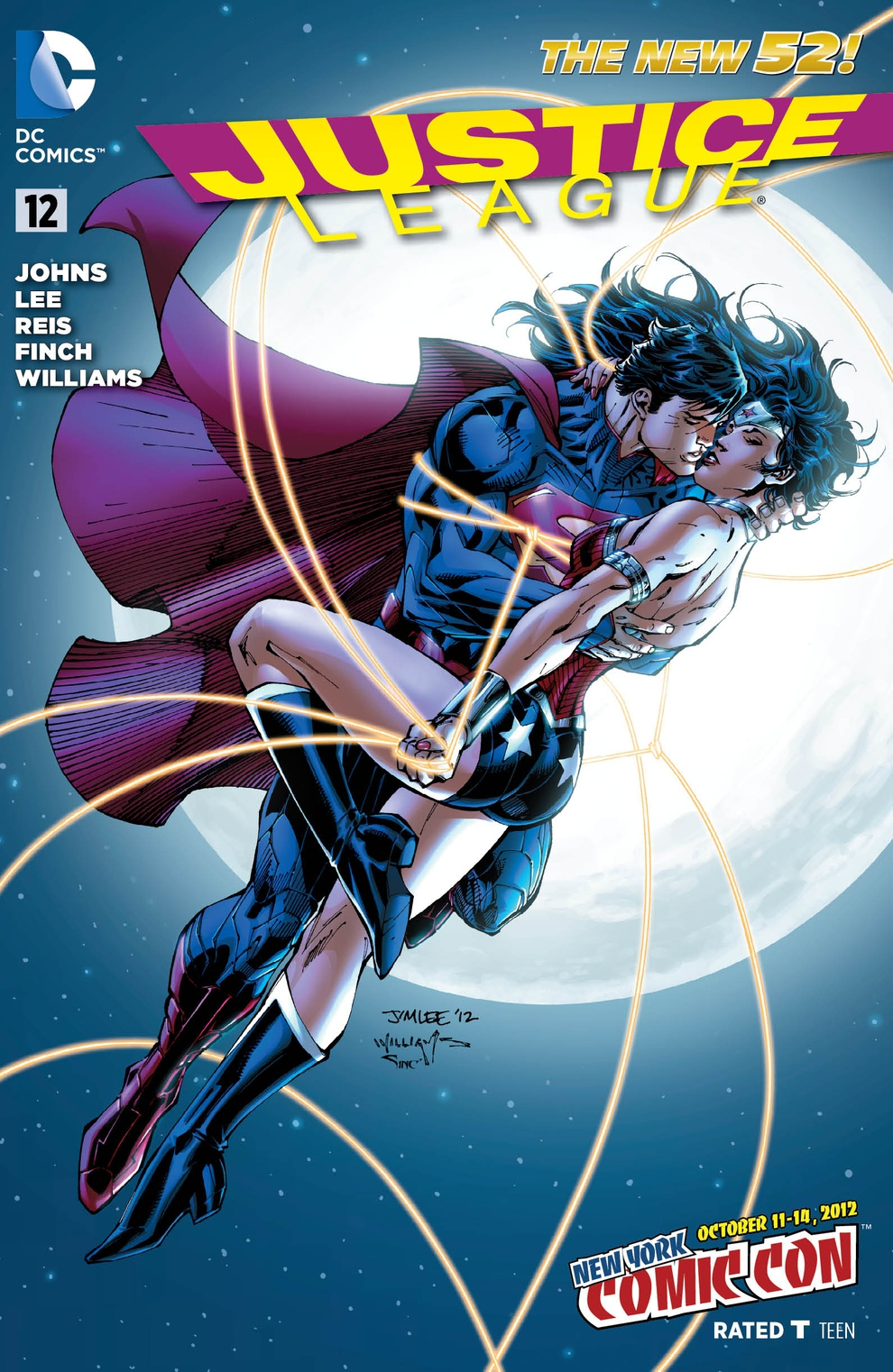 DC Comics Unveils NYCC Exclusive Covers от Kaye за 01 oct 2012