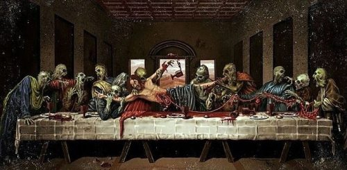 Funny alternatives of the Last Supper  от Veggie за 01 oct 2012