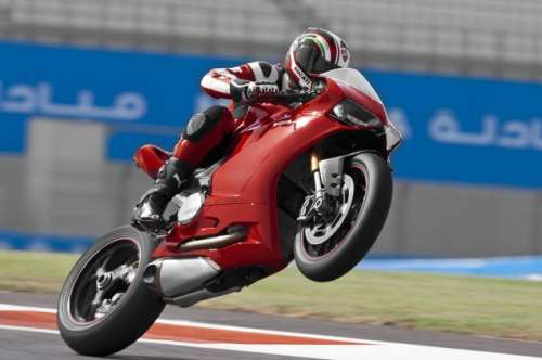 The Ducati 1199 super bike