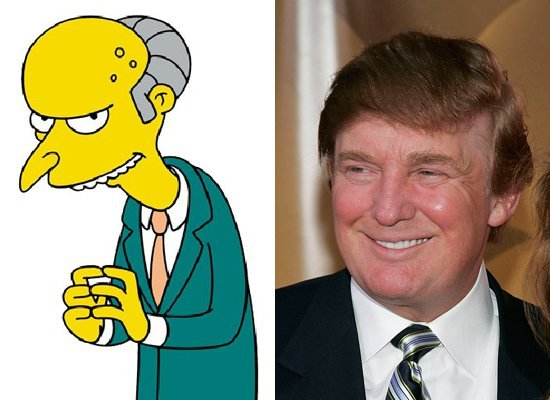 Mr. Burns / Donals Trump