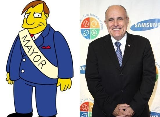 Mayor Joe Quimby/Rudy Giuliani