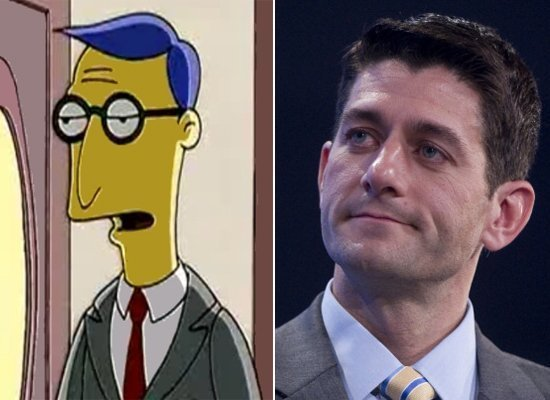 Blue Haired Lawyer/Paul Ryan