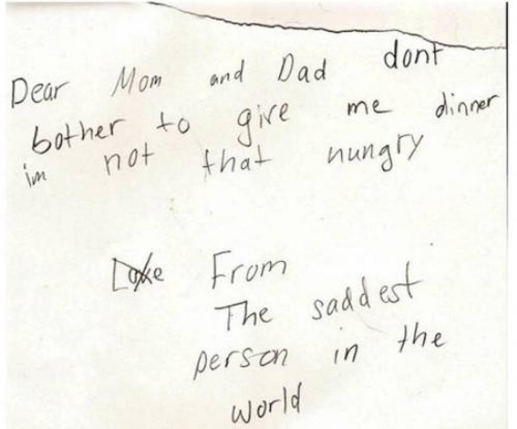 Kids Say the Darnest things! Notes From Children
