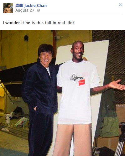 15 Amazing Posts from Jackie Chan's Facebook от Helen за 03 oct 2012