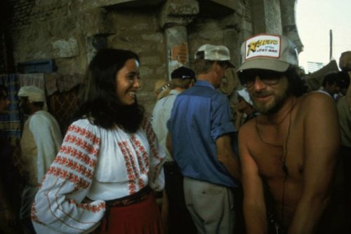 "Rare behind the scenes photos from ""Raider of the Lost Ark"""