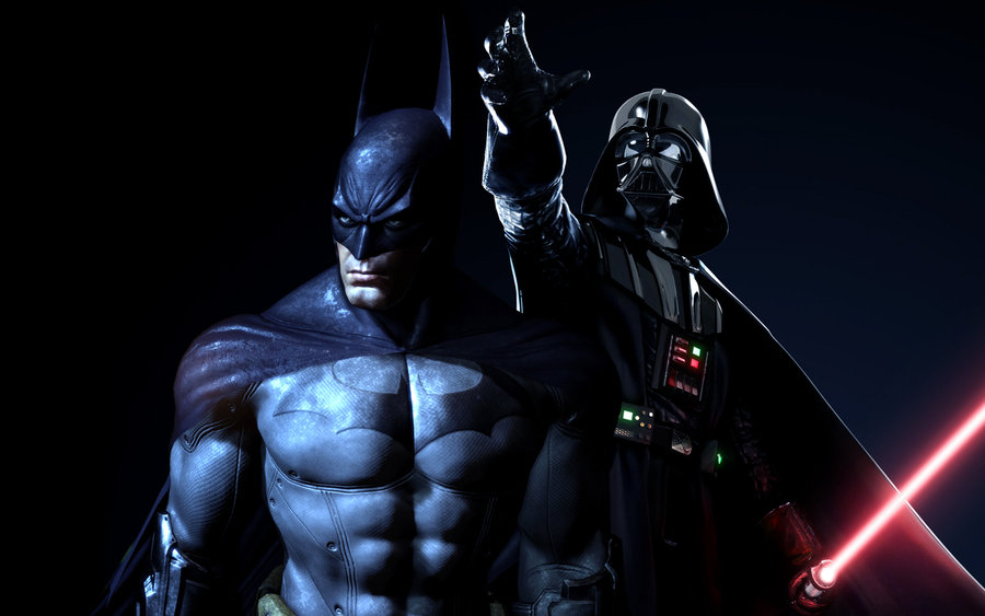 Because Two is Better than One: Batman vs. Darth Vader от Veggie за 03 oct 2012