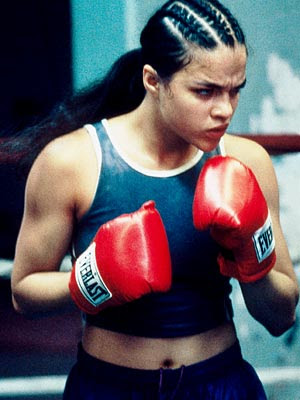 Michelle Rodriguez as Diana Guzman: Girlfight