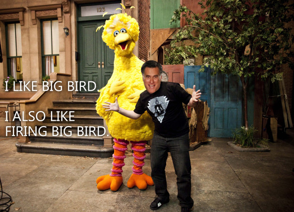 Big Bird Gets Fired от Veggie за 04 oct 2012