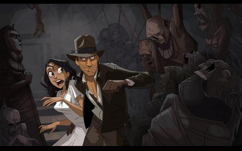 If Indiana Jones was a Cartoon от Veggie за 04 oct 2012