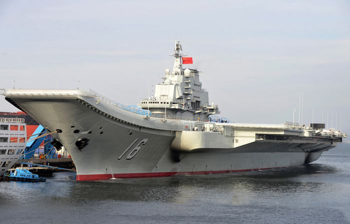 Resurrection of the Aircraft Carrier Varyag от Helen за 08 oct 2012