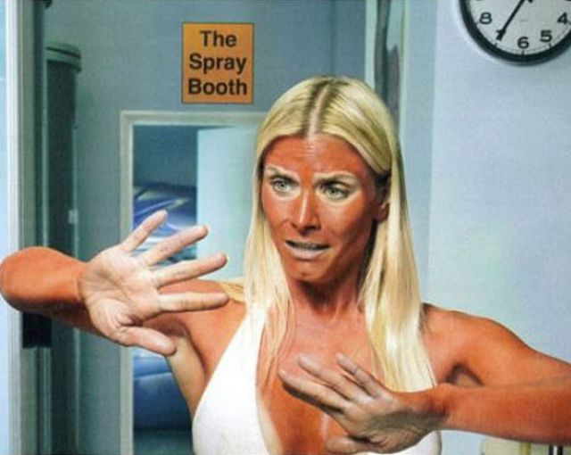These fake tan fails are bright enough to stop traffic. от Helen за 08 oct 2012