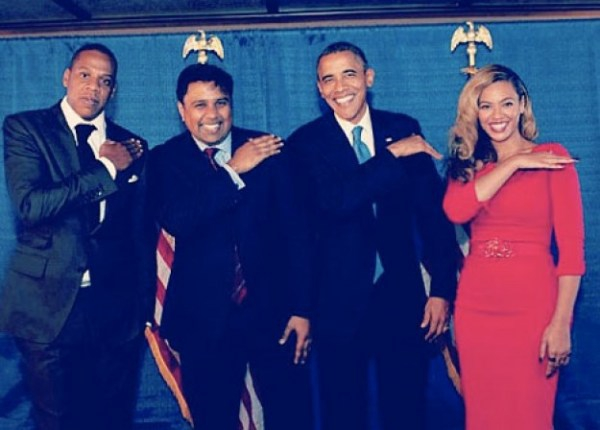 Beyonce, Jay-Z and... Barack Obama?