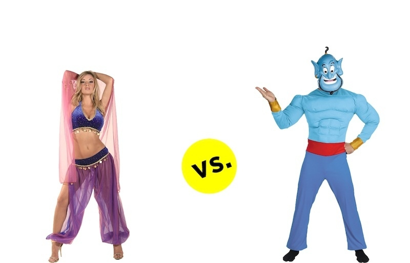 Crazy Differences between Men and Women Costumes.  от Veggie за 08 oct 2012