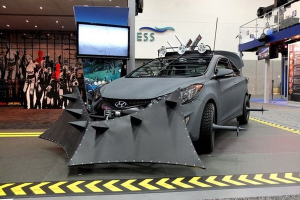 The ultimate car for the zombie apocalypse