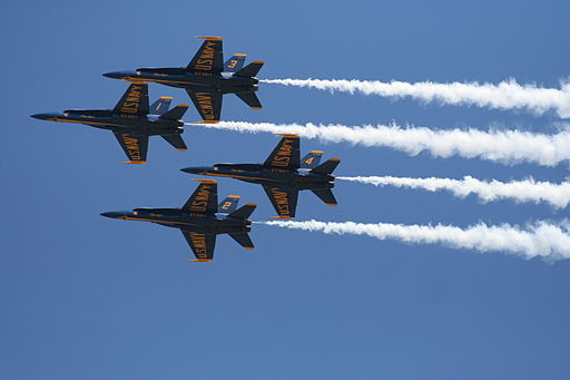 Eyes in the sky: Blue Angels