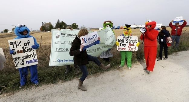 Romney Supporters Think it's Cool to Cut Funding to Sesame Street от Kaye за 09 oct 2012