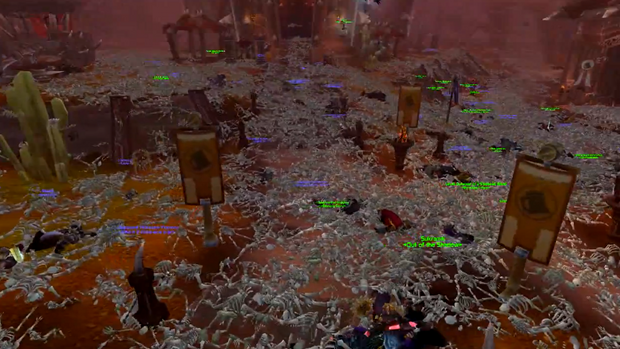 Thousands Slaughtered in WoW