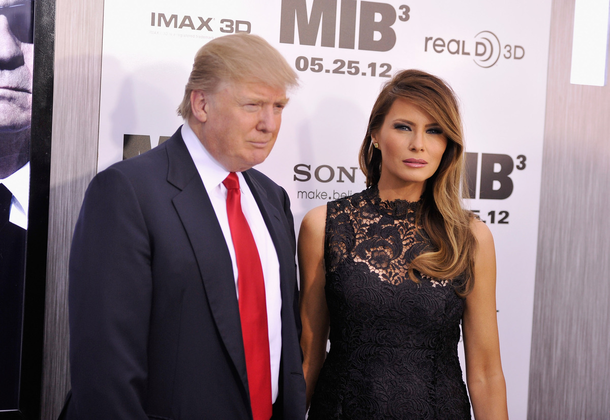 The Trumps- Donald and Melania Trump