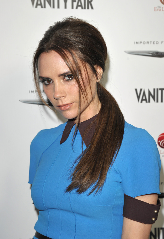 Victoria Beckham's bitchface is permanent.