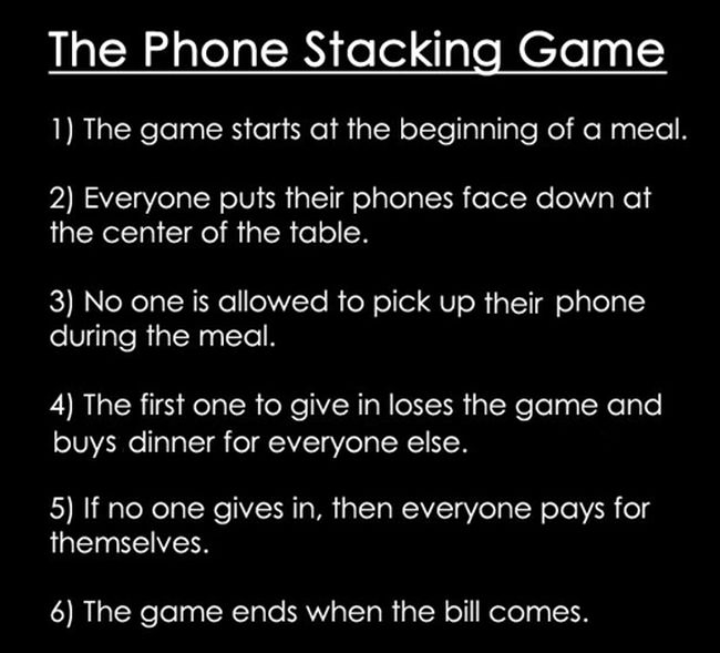 Phone Stacking Game