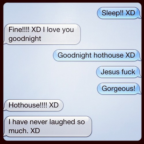 LOL romance. Your true love will call you a hot house.