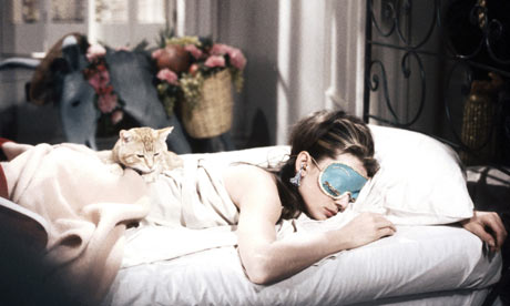 Audrey Hepburn as Holly Golightly in Breakfast at Tiffany's (1961)