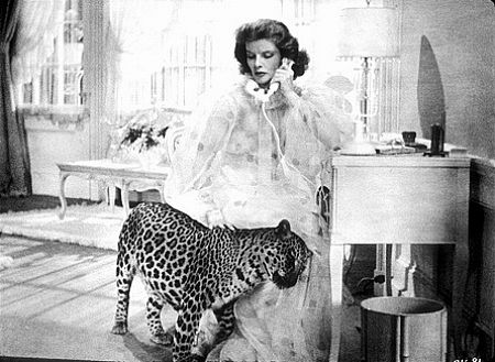 Katharine Hepburn as Susan in Bringing up Baby (1938)