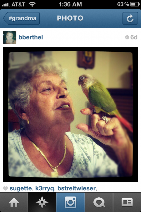 Grandma + Instagram = AWESOME! от mick за 10 oct 2012