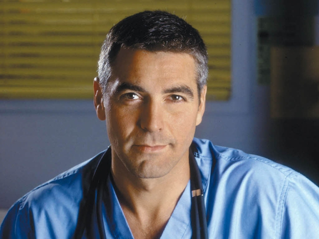 "George Clooney As Dr. Doug Ross On ""E.R."""