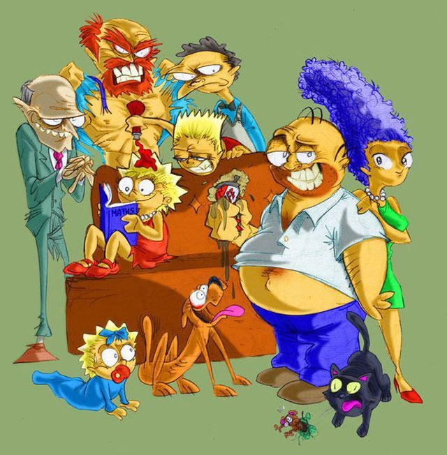 Amazing Simpsons fan Art